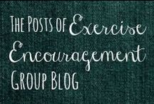 EXERCISE BLOG / A blog I created to write motivational posts for people who are working towards goals in exercise, fitness, health, or weight loss. / by Helen Stafford