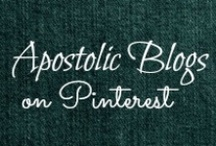 APOSTOLIC BLOGS / I am an Apostolic Pentecostal Blogger. I host the AP Bloggers link-up which can be found at http://blueeyedbeautyblogg.blogspot.com/p/ap-bloggers.html. Stop by and add your blog to the link up party! (I also have a link-up on this page for AP's on Pinterest!) / by Helen Stafford
