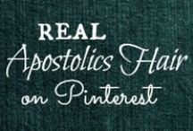 APOSTOLICS HAIR / A board dedicated to pinning photos of real Apostolic Pentecostal girls hairstyles and tutorials! / by Helen Stafford