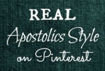 APOSTOLICS STYLE / My own personal style posts from Blue Eyed Beauty Blog as well as ideas for mixing up outfits and coming up with something adorable yet still modest! / by Helen Stafford