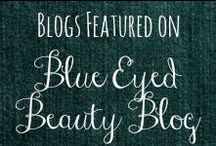Blogs Featured on BEBBlog / I love to give shout outs to other bloggers who stop by my blog and leave me a comment, or new followers of my blog, or just a great blog I come across in my blogging adventures! Here are the ones I've been able to pin! There are so many more which you can check out here: http://blueeyedbeautyblogg.blogspot.com/search/label/BlogMentions / by Helen Stafford