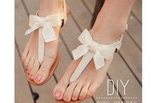 DIY: Clothing and Accessories / DIY projects for my closet! / by Sarah Gregory
