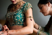 Indian Fashion and Beauty / indian wedding fashion hair and makeup  / by Rav