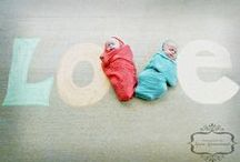 Baby { tiny humans } / Baby items and decor. Twins. / by Hyakurin