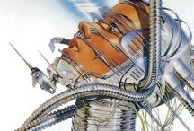 Sci-Fi Art / by PIPKINDESIGN Stren Pipkin
