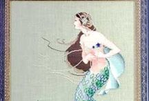 Cross Stitch / Some projects Ive done,some I want to do / by Tonya Woodall Longshore