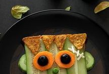 Food-fun ideas for kids / by Dall Bariscak
