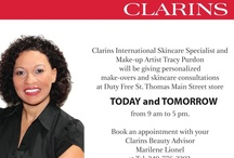 Clarins Skincare Event / Duty Free St. Thomas in A.H. Riise Mall, Main Street / by Duty Free