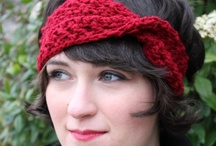 Crochet - Headbands, Earwarmers, Belts, Cuffs, Bracelets / by Alicia Frieberg