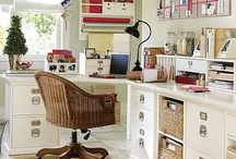 Craft Rooms / Inspiration for my new craft room! / by Lisa