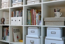 Storage and organisation / ideas for when i move into my new home. making the most of space / by Lisa