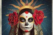 Dia de los Muertos / by ♠Sabbie's Purses and More♠