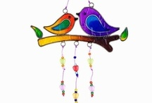 windchimes   suncatchers / I love the sound of windchimes, on a breezy day or night..and suncatchers, in the light..(I'm a poet and didn't know it!  ha!) / by ღJo AnneD ✿⊱╮