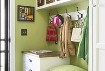Creating Storage Space / I'm always looking for ways to stay organized. Here is a collection of storage ideas. / by Adora Diaz