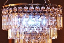 Chandeliers / by Smoketree Junction Antiques