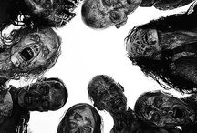 The Walking Dead & Zombies / Zombies... The walking dead ....Brains! / by Cindy Fryz