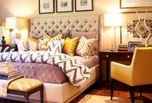 HOME | bedrooms / by Melissa Small