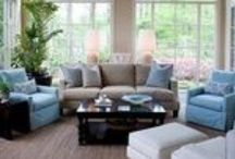 HOME | living rooms / by Melissa Small