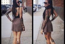tattoos / by Danelle Crichton