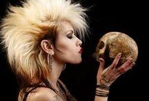 Hair, Makeup and SPFX Makeup Ideas / by B.b. Gunz