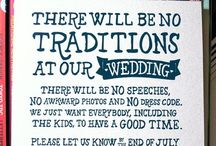 Wedding plans & ideas / by Stephanie Fischer