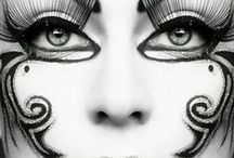 """Dramatic MakeUp!! / Share your images of Extreme , Dramatic , Sexy , Theatrical, & High Fashion Makeup!!! """"Let Me Know If You Would Like An invite 2 Pin"""" / by Valerie"""