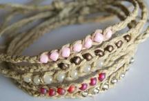 diy bracelets  and other DIY jewlery  / by Brooke Kaminski