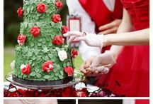 Queen of Hearts Wedding / by When Geeks Wed