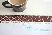 Keep It Organized. / All things organization.  / by Elise von Wolzogen