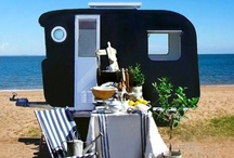 Camper & Caravan Design / Perhaps an on site office! / by Simonds & Company, Kitchens by Design