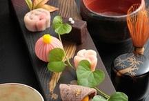 japanese sweets(wagashi) / by Tamami Yoshida-williams