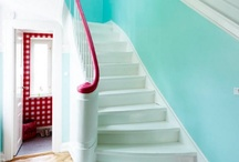 Bright and Happy Home / These bright ideas bring happiness to the home... / by Betsy Cherepko