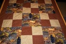 My Handmade Quilts / Lots of my quilts are given to cancer patients and I enjoy giving them.  God blesses! / by Sandy Neal