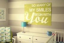 Baby room ideas / by Tiffany Alvarado McKenna