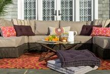 Outdoor Furniture / Lovesac takes the indoors outdoors with Sactionals & other great outdoor accessories! / by Lovesac
