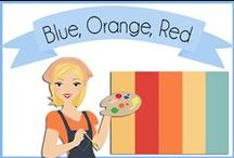 Color: Blue & Orange / by Robin Sampson