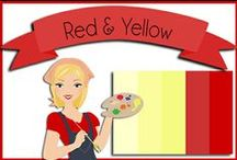 Color: Red & Yellow / by Robin Sampson