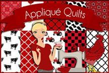 Quilting: Appliqué Quilts / Appliqué  and Appliqué Quilts, I LOVE Fused Quilting. / by Robin Sampson
