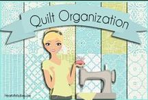 Quilting: Organization / Quilt Room, Craft Room, Sewing Room, Scrapbook Room, Quilting, Scrapbooking, Sewing, Crafting, Organize, Dream Room, tips / by Robin Sampson