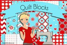 Quilting: Blocks & Paper Piecing / Quilt blocks and paper piecing / by Robin Sampson