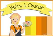 Color: Yellow & Orange / by Robin Sampson