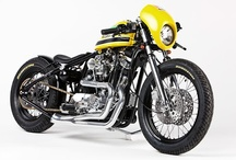 Motorcycles / Classic motorcycles, custom motorcycles, cafe racers.