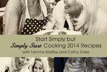 Start Simply Cooking Classes / by Tammy Maltby /www.tammymaltby.com