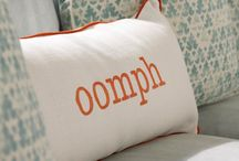 Personalization / Monograms on paper and linens / by oomph online