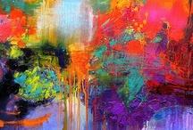my works of art / I love art / by Cybill Summer