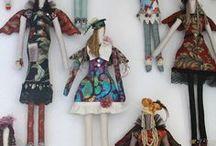 dolls / by Joanne Huffman