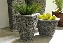 Accessories - Outdoor Planters / Outdoor planters; planters; outdoor home accessories / by J A N E T * S L A B O S Z - G R I G G S
