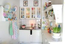 Kitchens and Dining Rooms / by Polka Dot Daze