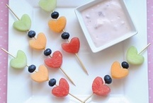 kids lunch and snack ideas / by Amanda W