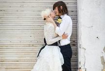 Rock n Roll Bride / Alternative wedding ideas / by Kat Williams